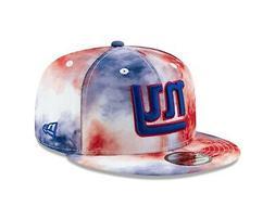 New York Giants NFL PAINT MASSAGE  9Fifty Snapback Hat - Blu