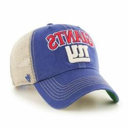New York Giants NY 47 Brand Snapback Mesh Adjustable Cap Hat