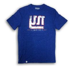 "New York Giants ""NY Giants"" Majestic Men's Blue Short Sleeve"