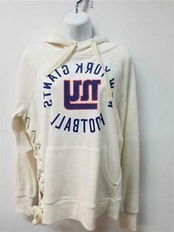 New York Giants NY NFL Women's Hooded Sweatshirt Hoodie Swea
