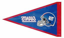 New York Giants PENNANT 3x5 Flag Applique Embroidered Outdoo