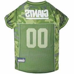 New York Giants Pet Camo Jersey