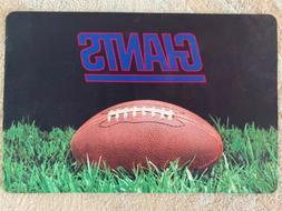 New York Giants Pet Dog Bowl Black Mat