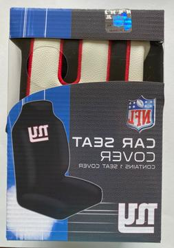 New York Giants Seat Cover High Back Licensed 1 pc NFL