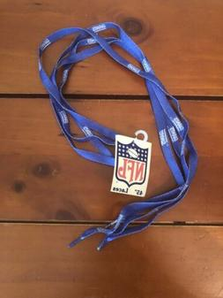 "New York Giants Shoe Laces 45"" NFL Lace Sneaker Tennis Gym N"
