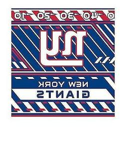 New York Giants Stretchable & Washable Book Cover - Fits boo