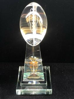 New York Giants Super Bowl XLII Vince Lombardi Crystal Troph