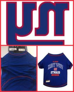 🐶Pets First New York Giants T-Shirt Extra-Small {Brand Ne
