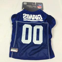 New York Giants Team Jersey Pet Wear NFL Jersey XS M Dog Cat