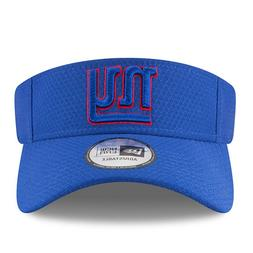 New York Giants New Era Training Camp Visor Hat Blue - Free
