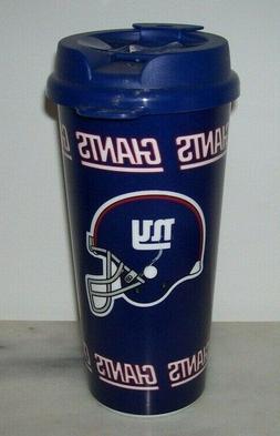 NEW YORK GIANTS TRAVEL MUG CUP BRAND NEW!!!!!