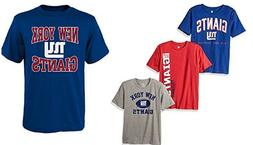 New York Giants  NFL Youth Boys Pick Color Short Sleeve Team