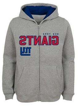 """New York Giants Youth NFL """"Game Stated"""" Full Zip Hooded Swea"""