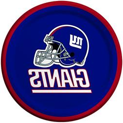 Creative Converting 8 Count New York Giants Paper Dessert Pl