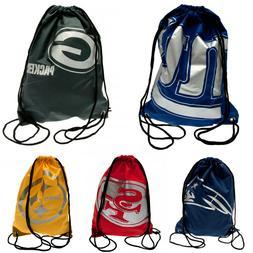 NFL FOOTBALL LEAGUE SCHOOL LUNCH SPORTS KIT BAGS DRAWSTRING