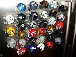 NEW NFL HELMET REFRIGERATOR MAGNETS -- Pick YOUR TEAM!!