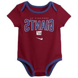 Nike NFL Infant Newborn New York Giants Nostalgic Icon Creep