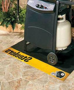 NFL LOGO BBQ OUTDOOR GRILL MAT Pool Deck Balcony Patio Chef