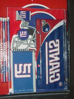 NFL New York Giants 11 Piece School Set