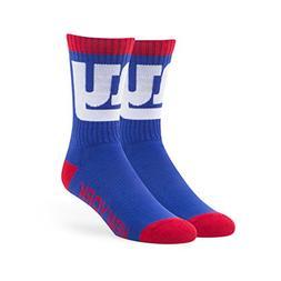 NFL New York Giants Men's '47 Bolt Casual Dress Crew Socks,