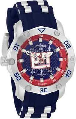 Invicta NFL New York Giants Automatic Blue Dial Ladies Watch