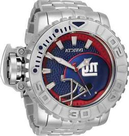 Invicta NFL New York Giants Automatic Blue Dial Men's Watch