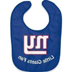 NFL New York Giants Baby Infant All Blue ALL PRO BIB LITTLE