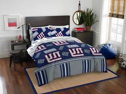 NFL New York Giants Bed In Bag Set Comforter Full Queen Shee