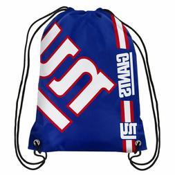 NFL New York Giants Big Logo Drawstring Backpack