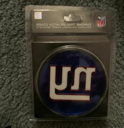 Rico NFL New York Giants Chrome Trailer Hitch Cover New Meta