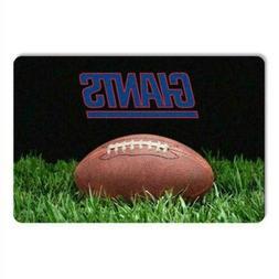 NFL New York Giants Classic Football Pet Bowl Mat, Large