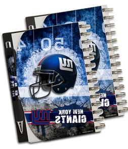 NFL New York Giants Deluxe Hardcover, 5 x 7 Inches Notebook