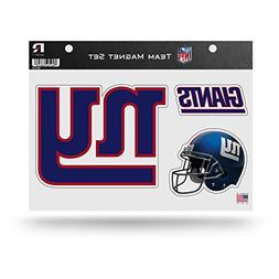 "Rico NFL New York Giants NFL Team Magnet Sheet, Blue, 11"" x"