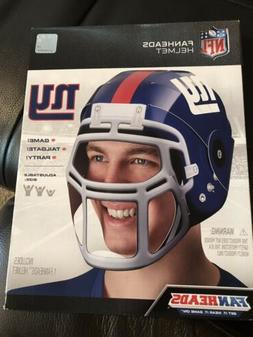 NFL New York Giants Fan Heads Helmet New Sealed! Tailgate Fu