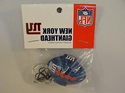 NFL New York Giants Foamhead 4 in 1 Antenna Topper Keychain