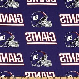 "NFL NEW YORK GIANTS FOOTBALL VALANCE  56"" WIDE X 13""LONG"