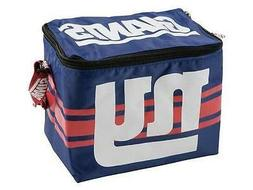 NFL New York Giants Insulated Lunch Tote 6 Pack Cooler Soft