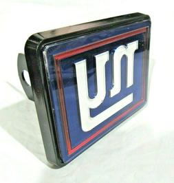 NFL New York Giants Laser Cut Trailer Hitch Cap Cover Univer