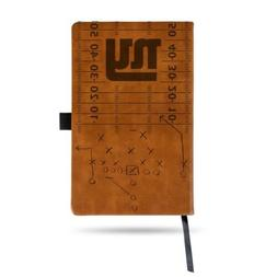 NFL New York Giants Laser Engraved Leather Notebook - Brown