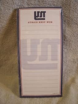 NFL New York Giants Magnetic Notepad