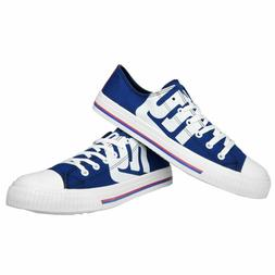NFL New York Giants Mens Low Top Canvas Sneakers Shoes - Cho