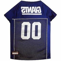 NFL New York Giants Pet Jersey. *Officially Licensed* Brand