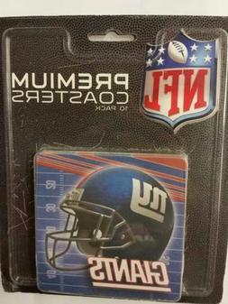 NFL New York Giants Premium Coasters  Helmet Style NEW