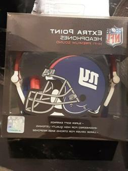 NFL New York Giants iHip Slim DJ Headphones
