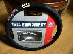 nfl new york giants steering wheel cover