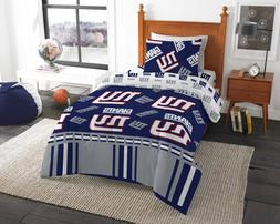 NFL New York Giants Team Bed In A Bag Set Comforter Fitted F