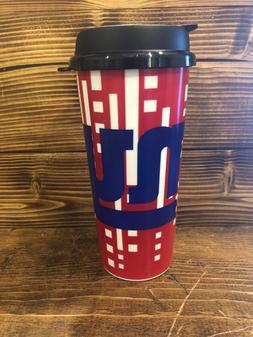 NFL New York Giants Whirley Drink Insulated Travel Mug 16oz