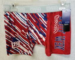 NFL New York Giants Woodmark Men's Underwear Boxer Briefs Re