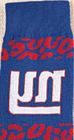 NFL New York NY Giants Women's Knee High Hi Leopard Print So