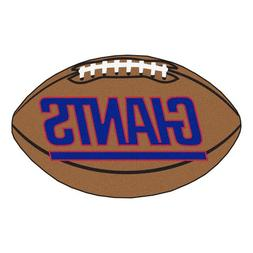 FANMATS NFL New York Giants Nylon Face Football Rug